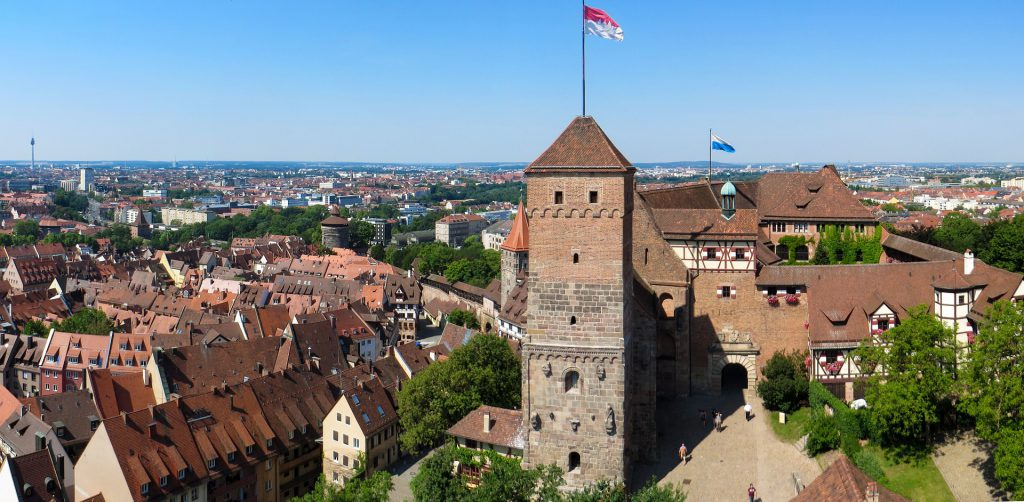 Nürnberg Skyline - Outplacement Beratung in Nürnberg