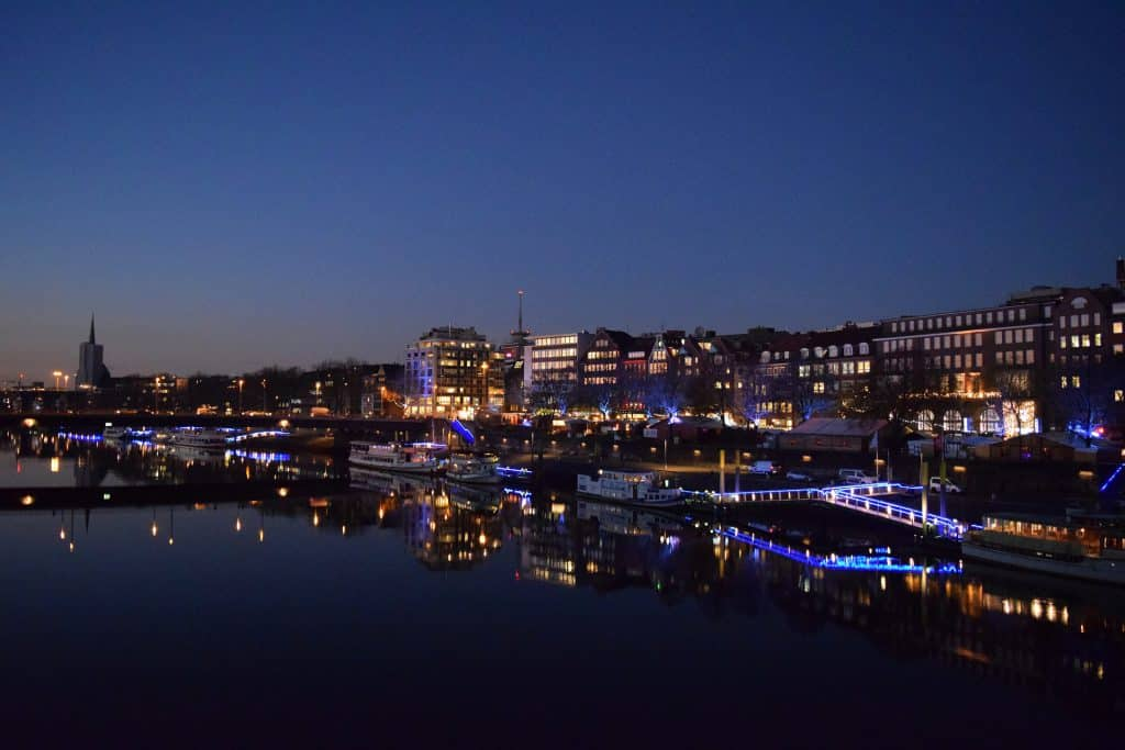 Outplacement Beratung in Bremen - auch nachts bei Bedarf. Bermen Panorama