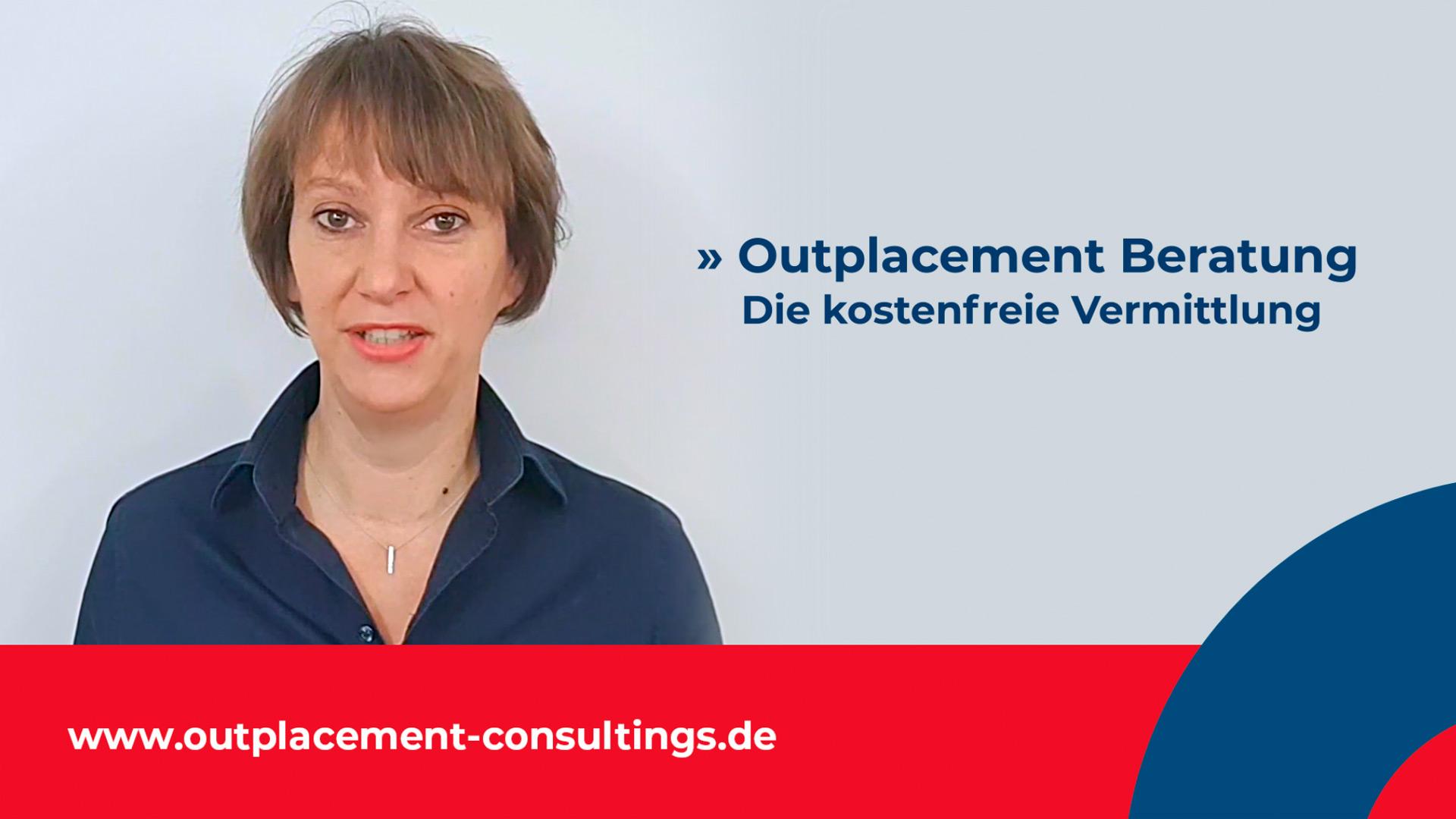Outplacement Consulting Beraterin stellt sich vor / Portrait