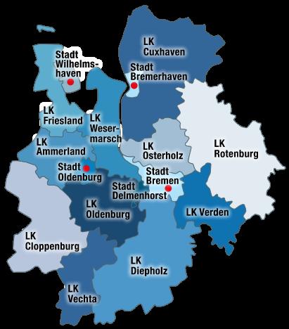 Die Region Bremen, Outplacement-Beratung
