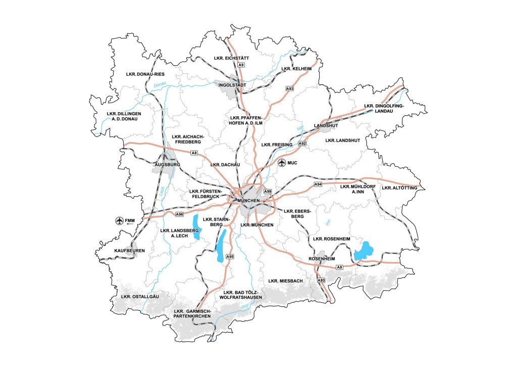 Die Metropolregion München, Outplacement-Beratung