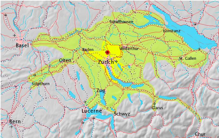 Der Großraum Zürich, Outplacement-Beratung